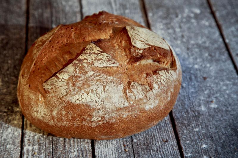pane con farina di grano tipo 2